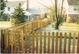 Picket Fence Round Top